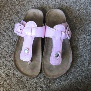 Very cute pink sandals size 13-1